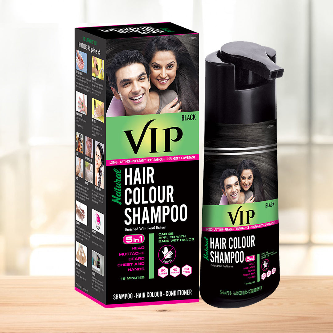 Look younger, be more Confident & Handsome with VIP Hair Colour ...