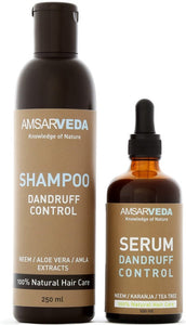 100% Natural Antiseptic and Ayurvedic Dandruff Control Solution | Fights & Prevents Dandruff, Purify the scalp & Itching Relief