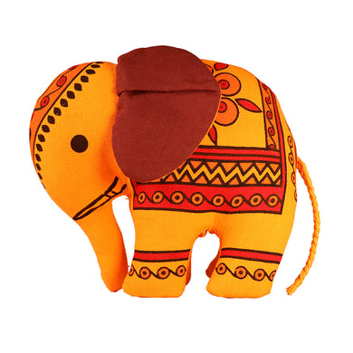 Handcrafted Stuffed Elephant