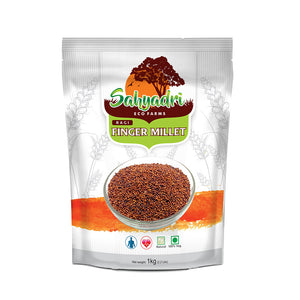 Organic Finger Millet, Whole Ragi (Gluten Free, Low GI, Weight Loss and Diabetic Friendly)
