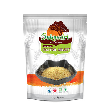 Organic Foxtail Millet, Whole Navane (Gluten Free, Reduces Gastric Problems & Heart Ailments, Diabetic Friendly)