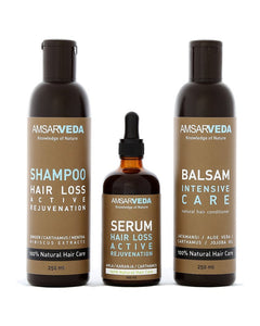 100% Natural and Ayurvedic Hair Loss Special Treatment Pack for Anti-hair Fall, Nourishment & Moisturization, Damage Repair
