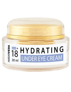 100% Natural & Safe Hydrating Under Eye Cream with Sandalwood, Aloe Vera and Almond oil