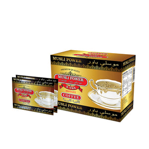 Musli Power Xtra Instant Coffee: For better circulation, relaxes muscles,& makes you feel younger.