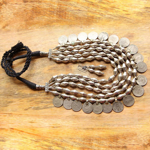Dholki bead necklace