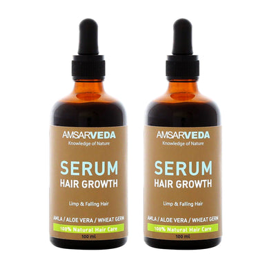 100% Natural Hair Growth Serum (Pack of 2)