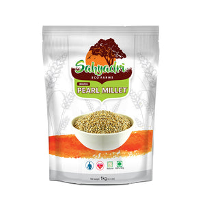 Organic Pearl Millet, Whole  Bajra(High Protein, 11x The Iron of Rice, Helps Digestion, Lowers Cholestrol & Diabetic Friendly)