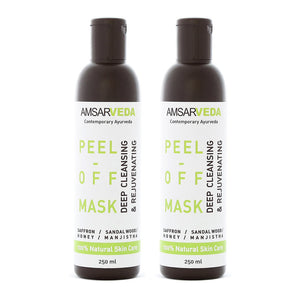 Deep Skin Cleansing Peel-Off Mask  (Pack of 2)