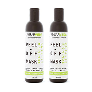 All Natural Deep Pore Cleansing, Toning and Lifting Peel off Mask (Pack of 2)