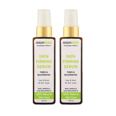 All Natural Chemical Free Skin Firming Serum, Skin Cream (Pack of 2)