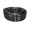 Food grade, non-toxic soft poly black tubing for irrigation, feed and drainage.