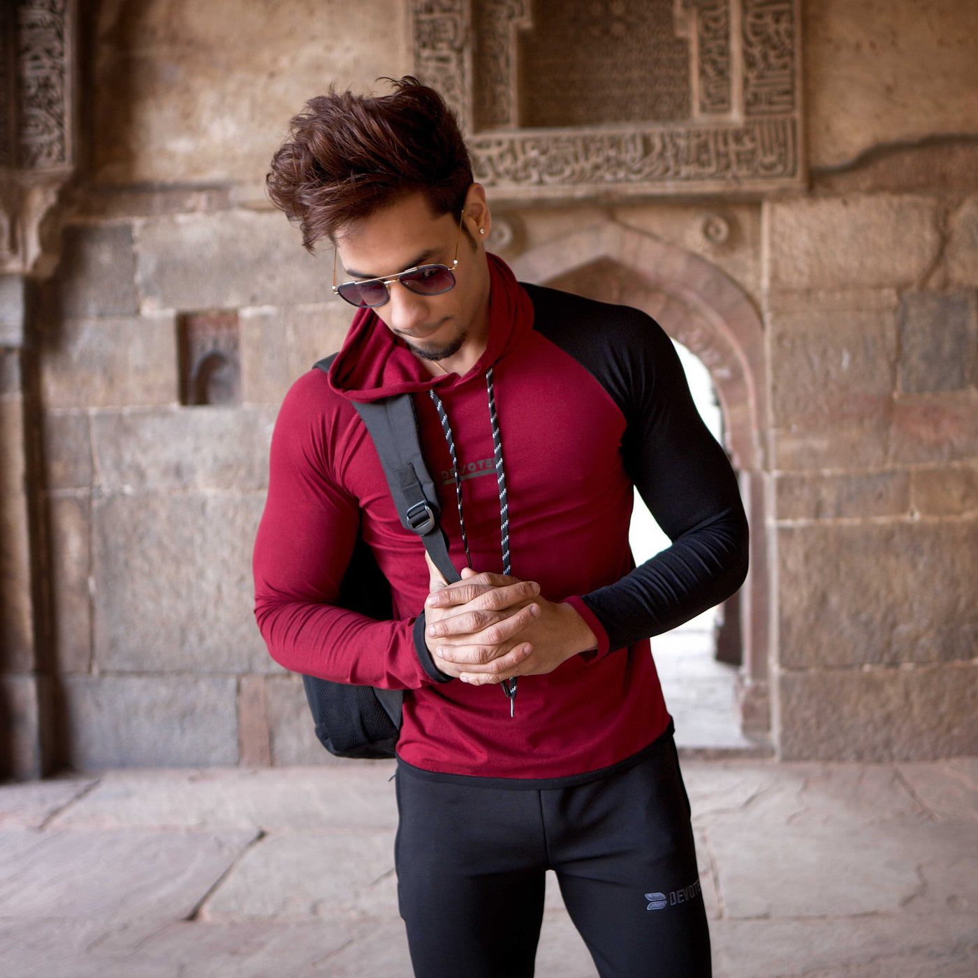 Hoodie T-shirts - Devoted gym & sports wear - Finest fabric yet! - Nikhil Jain (@Nikhil_Jain23)