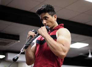 Devoted Allure Sleeveless Hoodie V2.0 - Maroon - Gym & Sports Clothing and Apparels - Shaurya Bisht @ShauryaBisht