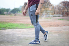 Devoted Dri-Stretch Joggers/Bottoms/Lower/Track pants - Gym Wear & Sports Wear | Super Flexible, Ultra Soft, Smooth, dry fit & Amazing - Grey outside shoot