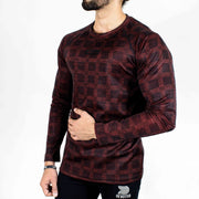 Dri-Stretch Pro Full Sleeves T-shirt - Rusty Black - Devoted Gym Wear & Sports Clothing - Side