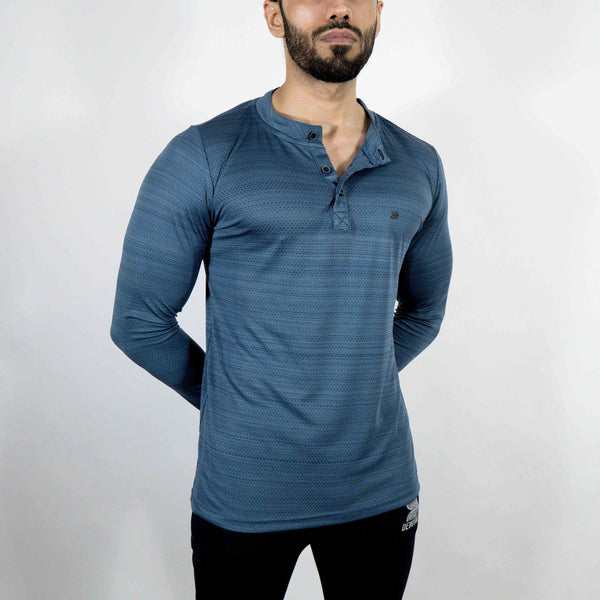 Dri-Stretch Henley