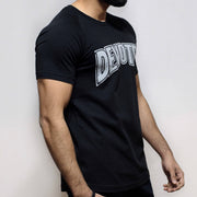 Devoted Allure T-shirt-Black-Stretch Side | Stretch-Muscle Fit | Gym Wear | SportsWear