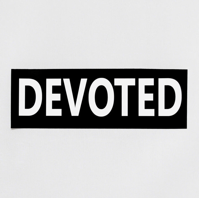 Devoted Stickers