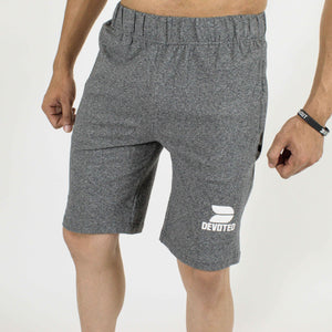 Allure Active Shorts - Devoted Gym wear & Sportswear - Grey - Front