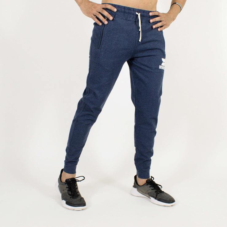 Devoted Allure Sapphire Blue Joggers - Gym Wear & Sportswear | Super Flexible - Ultra Soft, Smooth & Amazing - Front