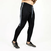 Devoted Dri-Stretch Joggers/Bottoms/Lower/Track pants - Gym Wear & Sports Wear | Super Flexible, Ultra Soft, Smooth, dry fit & Amazing - Black Side