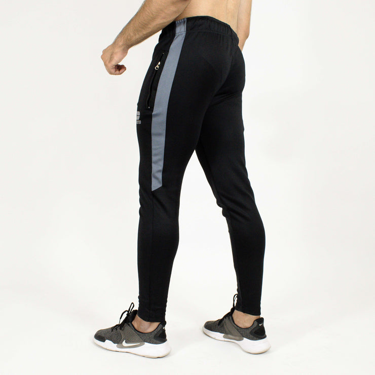 Devoted Dri-Stretch Joggers/Bottoms/Lower/Track pants - Gym Wear & Sports Wear | Super Flexible, Ultra Soft, Smooth, dry fit & Amazing - Black back