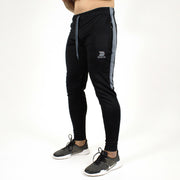 Devoted Dri-Stretch Joggers/Bottoms/Lower/Track pants - Gym Wear & Sports Wear | Super Flexible, Ultra Soft, Smooth, dry fit & Amazing - Black other Side