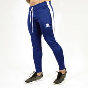Devoted Dri-Stretch Joggers/Bottoms/Lower/Track pants - Gym Wear & Sports Wear | Super Flexible, Ultra Soft, Smooth, dry fit & Amazing - Royal Blue Side