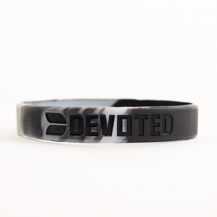 Devoted wear White Camouflage Band | Silicone band | Live Your Workout | Gym Wear & SportsWear