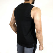 Allure Sleeveless T-shirt - Gym Wear - Black - Devoted Wear | Sports Wear - Back