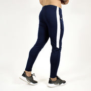 Devoted Dri-Stretch Joggers/Bottoms/Lower/Track pants - Gym Wear & Sports Wear | Super Flexible, Ultra Soft, Smooth, dry fit & Amazing - Navy Blue back