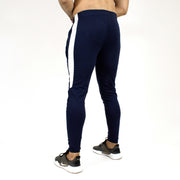 Devoted Dri-Stretch Joggers/Bottoms/Lower/Track pants - Gym Wear & Sports Wear | Super Flexible, Ultra Soft, Smooth, dry fit & Amazing - Navy Blue other side