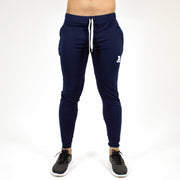 Devoted Dri-Stretch Joggers/Bottoms/Lower/Track pants - Gym Wear & Sports Wear | Super Flexible, Ultra Soft, Smooth, dry fit & Amazing - Navy Blue front