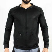 Devoted Lightweight Bomber Jacket Black - Muscle Fit Gym wear & sports clothing