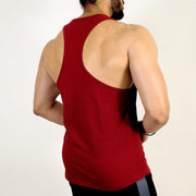 Devoted Allure Stringer V2.0 - Gym wear & Sports clothing - Maroon Back
