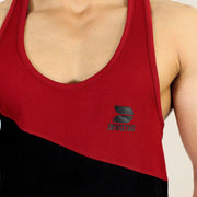 Devoted Allure Stringer V2.0 - Gym wear & Sports clothing - Maroon Closeup