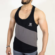 Devoted Allure Stringer V2.0 - Gym wear & Sports clothing - Black Front