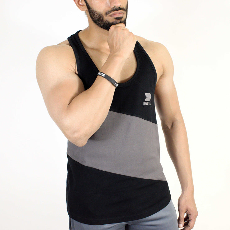 Devoted Allure Stringer V2.0 - Gym wear & Sports clothing - Black Side