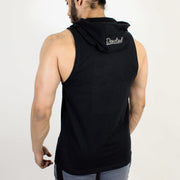 Devoted Allure Sleeveless Hoodie V2.0 - Gym wear & Sports clothing - Black Back