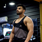 Devoted x Vidit Bhatia (@Bhatia_vidit) Allure Stringer V2.0 - Gym wear & Sports clothing - Black Gym Shoot