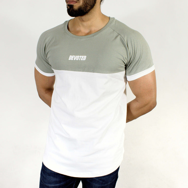 Devoted Duplex Sports T-shirt - Gym wear & Sports clothing - Rhino Grey Front