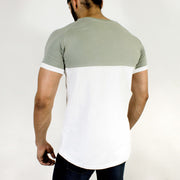 Devoted Duplex Sports T-shirt - Gym wear & Sports clothing - Rhino Grey Back