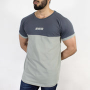 Devoted Duplex Sports T-shirt - Gym wear & Sports clothing - Anchor Grey Front