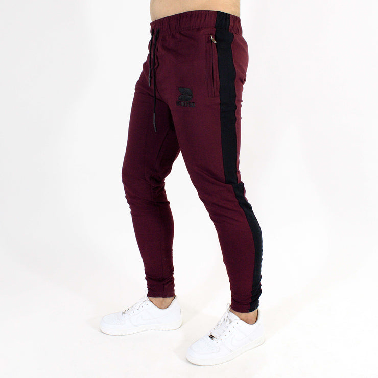 Devoted Allure Jogger V2.0 - Gym wear & Sports clothing - Burgandy/Wine Side 2