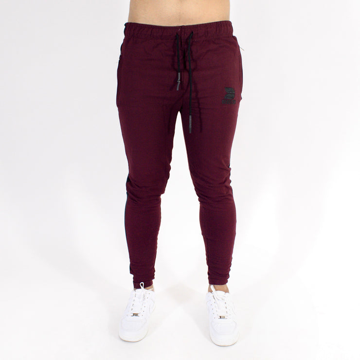 Devoted Allure Jogger V2.0 - Gym wear & Sports clothing - Burgandy/Wine Front