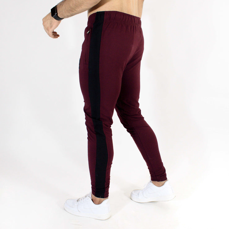 Devoted Allure Jogger V2.0 - Gym wear & Sports clothing - Burgandy/Wine Back Side