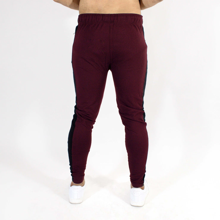 Devoted Allure Jogger V2.0 - Gym wear & Sports clothing - Burgandy/Wine Back