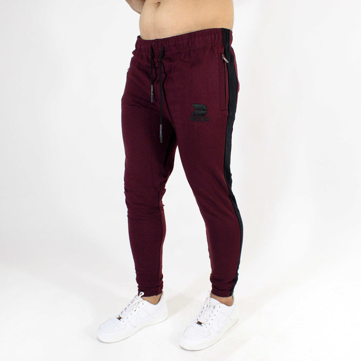 Devoted Allure Jogger V2.0 - Gym wear & Sports clothing - Burgandy/Wine Side