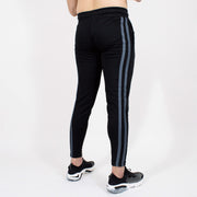 Devoted Dri-Stretch Jogger V2.0 - Gym wear & Sports clothing - Shaurya Bisht (@ShauryaBisht) - Black Back