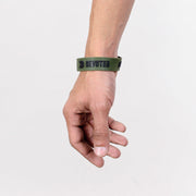 Devoted wear Wrist Band | Silicone band | Live Your Workout | Gym Wear & SportsWear - Green